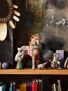 Detail from Martyn Thompson's SoHo loft.  Photo – Martyn Thompson.