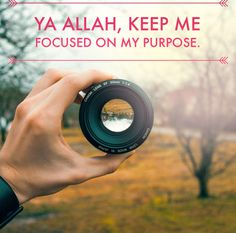 We all have a purpose, I pray that Allah keeps us on the path to that purpose! Ameen! #Islam #Purpose #Faith