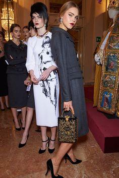 Dolce & Gabbana Alta Moda Spring 2016 Couture Backstage