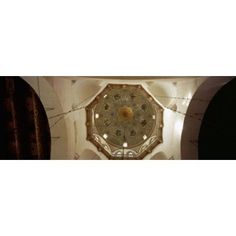 Low angle view of ceiling in a mosque Umayyad Mosque Damascus Syria Canvas Art - Panoramic Images (18 x 7)