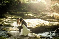 Romantic wedding kiss Wedding Kiss, Wedding Photography, Romantic, Wedding Dresses, Nature, Wedding Shot, Bridal Dresses, Romantic Things, Alon Livne Wedding Dresses