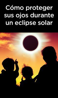 Cómo proteger sus ojos durante un eclipse solar. Se incluye un mapa del eclipse solar total de 2019. Eclipse Solar, Eye Safety, Movie Posters, Movies, Solar Eclipse, Eyes, Film Poster, Films, Movie