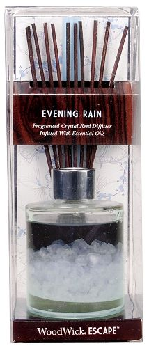 WoodWick ESCAPE™ Crystal Reed Diffuser - Evening Rain