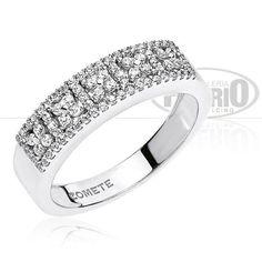 Anello in oro e diamanti. Nuova collezione primavera/estate 2014 Comete gioielli. Acquistalo su www.poeriofucelli.com