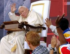 What did we learn from World Youth Day Pape Jeans, Pope John Paul Ii, Paul 2, World Youth Day, Juan Pablo Ii, Worship God, Youth Ministry, Catholic, Toronto