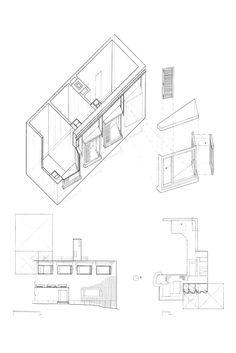 villa mairea study (alvar aalto), graphite, architecture design studio 1, 2005.