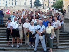 Spanish Steps - baroque Rome tour #grouptours