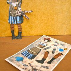 Alice in Steamland Paper Doll Puppet DIGITAL by novelatelier, $5.00