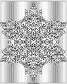 Snowflake coloring page available in jpg and transparent PNG #coloring