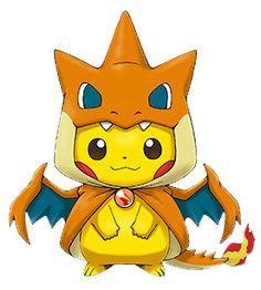 Mega Charizard Pikachu T Shirt
