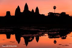 Sunset & Sunrise - Angkor Wat, Cambodia, birthplace of Simply Khmer's cuisine Siem Reap, Vietnam Travel, Asia Travel, Tokyo, Les Continents, Mysterious Places, Flight And Hotel, Koh Tao, Angkor Wat
