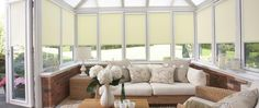 Conservatory Window Dressing Ideas