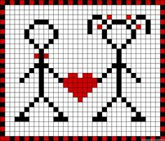 Sticken Kreuzstich - cross stitch - free pattern Tiny Cross Stitch, Cross Stitch Heart, Cross Stitch Cards, Cross Stitching, Cross Stitch Embroidery, Embroidery Patterns, Origami Patterns, Hama Beads Patterns, Knitting Charts