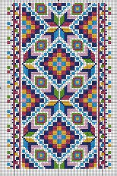 https://www.facebook.com/photo.php?fbid=1559361370817584&set=gm.1888471124800110&type=3&theater Beaded Cross Stitch, Modern Cross Stitch, Peyote Stitch, Cross Stitch Charts, Cross Stitch Designs, Cross Stitch Patterns, Crochet Square Blanket, Stitch Book, Folk Embroidery