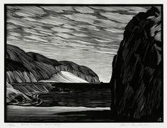 paul landacre prints - Google Search