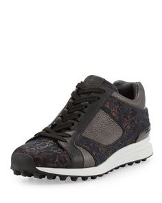 X27XS 3.1 Phillip Lim Trance Mixed Leather Sneaker, Bronze Multi