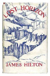 Lost Horizon by James Hilton. We LOVE this book for its inspiring depiction of fictional utopia, Shangri-La. Read Aloud Books, Great Books To Read, I Love Books, Frank Capra Movies, L James, Lost Horizon, Books For Boys, Book Nooks, Book Of Life