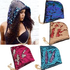 Mermaid Hat Color Changing Hat Halloween Mermaid Hat f9cc78e3ce05