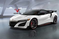 2017 Acura NSX Type-R front