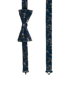 Selected Camo Pocket Square And Bowtie