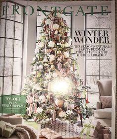 Frontgate November 2016 WINTER WONDER Catalog Source Book Inspiration    eBay