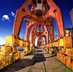 Porto Alegre, Brazil - cais do porto