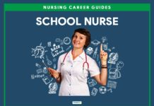 A school nurse (i., school nursing) supports students' success in the learning process by providing health care within the school setting. Nursing Degree, Nursing Career, School Nursing, School Nurse Office, Nclex Questions, Mental Health Nursing, Nursing Notes, Certificate Programs, Learning Process