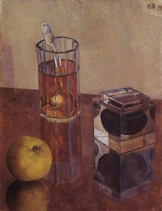 Still Life with Inkwell, 1934 by Kuzma Petrov-Vodkin (Russian, 1878-1939)