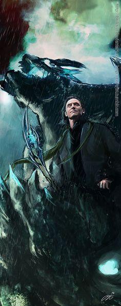 Loki- Pacific Rim AU by brilcrist.deviantart.com on @deviantART