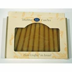 """Wholesale Beeswax 5.5"""" Shabbat Candles - 12-Packs (12 Pack) by Safed Candles. $271.62. High quality items at low prices to our valued customers.. We proudly offer free shipping. We can only ship to the continental United States.. All of the products showcased throughout are 100% Original Brand Names.. 100% Satisfaction Guaranteed.. Please refer to the title for the exact description of the item.. Wholesale carton of 12 packages of religious Shabbat candles (total of 144 ca..."""