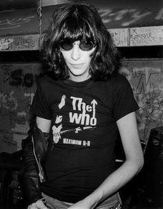 Joey Ramone by Bob Gruen