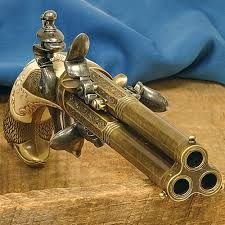 brass steampunk guns - Google zoeken