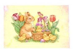Vintage Easter & Springtime by lucinda