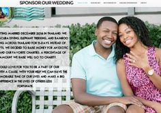 ORLANDO -- Engaged couple seeks to pay for wedding in Thailand by lining up corporate sponsors. They say they will wear company logos on wedding dress, groom's tux. (August 2014)
