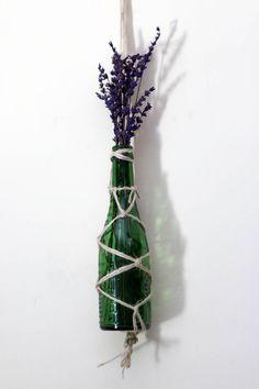 botella de cristal para adornar 2