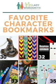 Perfect for Halloween parties, Harry Potter fans, Star Wars fans, and more. These DIY bookmarks are fun to make--for a variety of ages.