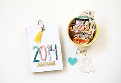 by laeti: Un mini album pour Crate Paper