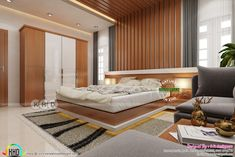 Wardrobe Design Bedroom, Luxury Bedroom Design, Bedroom Bed Design, Home Room Design, Master Bedroom, Bedroom Designs, Bed Back Design, New Bed Designs, House Rooms