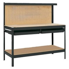 Gorilla Rack GR2102B 5-Feet Workbench with 2 Drawers, Black by Gorilla Rack. $167.79. From the Manufacturer                Rapid Rack Industries, Inc has been providing the industrial and commercial industry with the highest quality material storage solutions for over half a century. As Rapid Rack became a leader of storage solutions, we recognized the need for the same type of high quality product in the retail marketplace, thus, Gorilla Rack Product line was formed in 1988. Go...