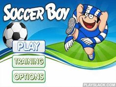 Soccer Boy  Android Game - playslack.com , Soccer Boy is a joyous game about a boy, soccer player. The aim of the game is to reason the trajectory and attain the ball in the chromatic container accumulating  as many stars on your route as accomplishable. If you think it is uncomplicated, you are mistaken. The hindrances are waiting for the boy at every stage. The game has 80 awesome well-drawn levels altogether.