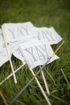 """YAY"" flags."