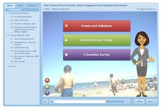 Free Online Tutorial on how parents can support libraries in their child's school, and resources that can help to plan literacy-based events for children, including lunchtime book clubs and family literacy events.