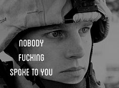 Generation Kill // Lt. Nate Fick