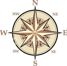are located on a map we use a compass rose. A compass rose is a design ... this one would be beautiful on a ceiling, with a light hanging from the center of it!