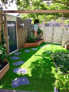 Terrace Decor, Terrace Garden Design, Small Balcony Garden, Home Garden Design, Small Garden Design, Raised Garden Beds, Small Backyard Landscaping, Backyard Patio, Minimalist Garden