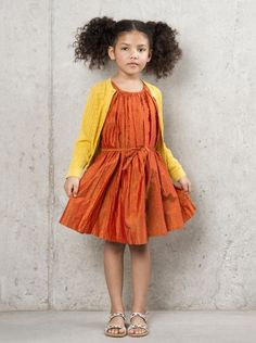 can't resist these burned colors.  and with her gorgeous complexion.  #estella #kids #fashion
