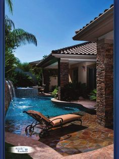 Great Idea When Only Space For A Small Pool/small Yard