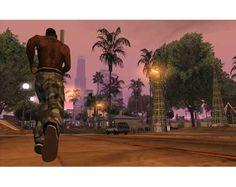 "Screenshot de Grand Theft Auto: San Andreas [""M"" Version] para PlayStation 2 2005 de Playstation 2, San Andreas Gta, Carl Johnson, Grand Theft Auto Series, Version Francaise, Cheap Games, Games To Buy, Childhood Friends, The Neighbourhood"