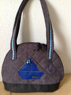 Bogentasche - 75%verkleinert Als Geburtstagsgeschenk für meine Mama. #frühstückbeiemma  #farbenmix  #taschenspieler3sewalong Taschenspieler  Farbenmix