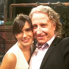 """Con Elena S.Sanchez presentadora de Dias de Cine en Tve2 en programa de Pablo Herreros """"yo mono"""""""
